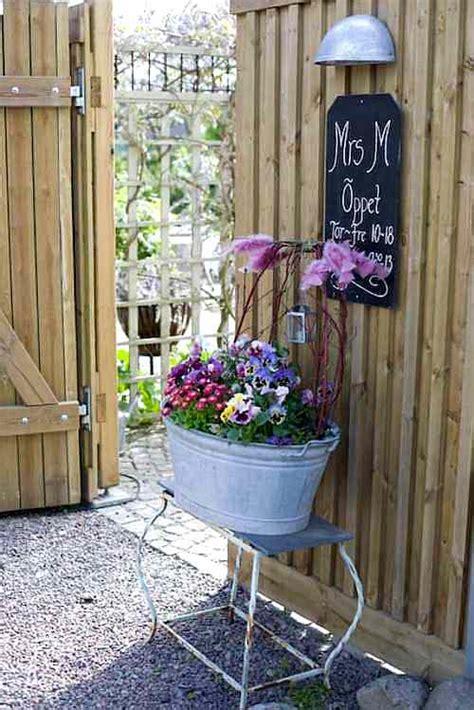 decoracion jardin tiestos  jarrones vintage  originales