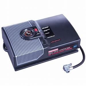 Craftsman 12 Volt Air Compressor  Inflator  Rechargeable