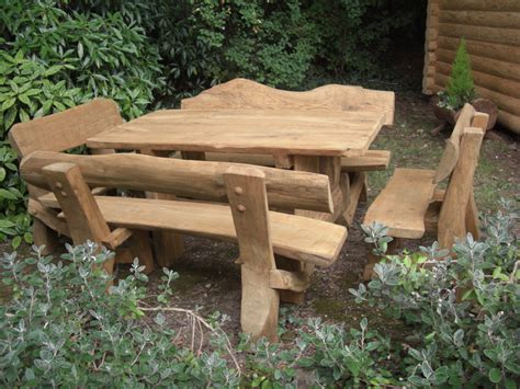 rustic outdoor furniture with modern concept worth to
