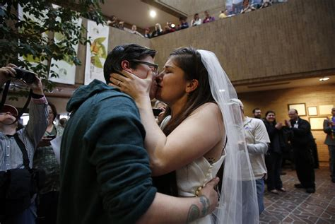 Same Sex Marriage Continues In Utah After Federal Judges