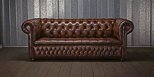 this image identifies the chesterfield sofa which was one With sofa couch or chesterfield