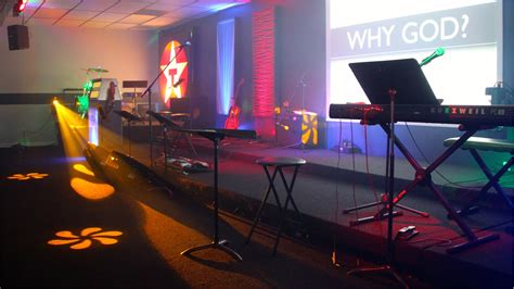 fuel  fire church stage design ideas