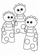 Night Garden Coloring Pages Pages12 Colour sketch template
