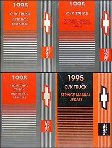 1995 C  K Truck Repair Shop Manual Original Set Pickup
