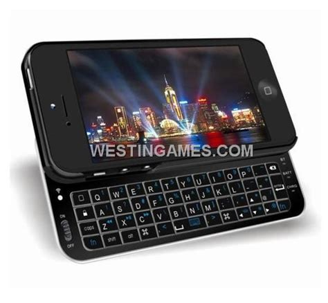 iphone 5 keyboard ultra thin slide out wireless bluetooth keyboard for
