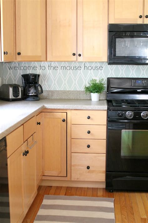 Easy Kitchen Backsplash $30 Target Wallpaper