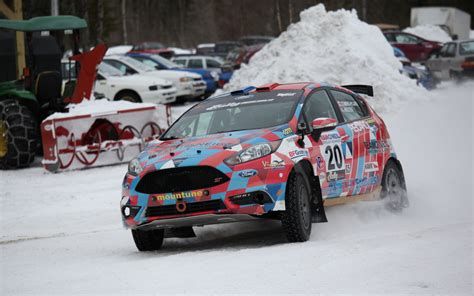Ford Fiesta Rally Experience At The Team O'neil Rally