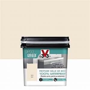 peinture decolab meuble salle de bain 100 waterproof v33 With leroy merlin peinture pour meuble