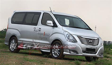 Modifikasi Hyundai H1 by Hyundai H 1 Xg Crdi A T Til Lebih Mewah