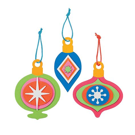 bright christmas ornament craft kit oriental trading