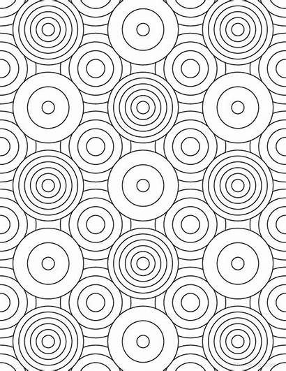 Coloring Pages Grown Geometric Patterns Pattern Adult