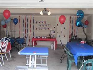 Garage Patry : use your garage for the party make it your own i did upside down balloons some streamers some ~ Gottalentnigeria.com Avis de Voitures