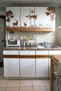 a home where each room has its own personality designsponge With kitchen colors with white cabinets with decorative wall paper art sticker