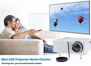 Projecteur Home Cinema : uc28 mini multim dia led projecteur home cin ma av vga hdmi sd usb ~ Preciouscoupons.com Idées de Décoration