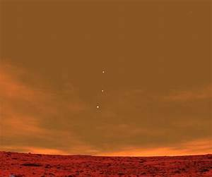 Earth, Jupiter and Venus as seen from Mars | Duck Duck ...