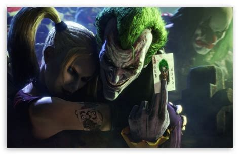 Joker and Harley Quinn 4K HD Desktop Wallpaper for 4K