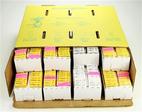 Paraffin Tissue Block & Slide Storage   Newcomer Supply