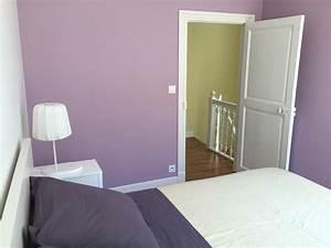 beeindruckend chambre parme adulte et blanc chaios com With chambre parme et beige