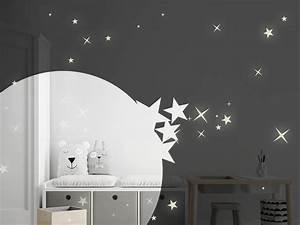 Leuchtsterne Für Kinderzimmer : leuchtsterne sternenhimmel f r die wand ~ Watch28wear.com Haus und Dekorationen