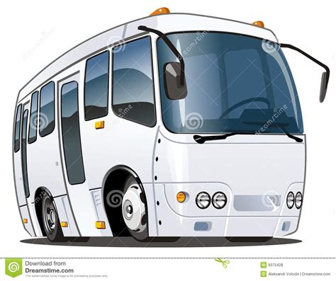 Vector Cartoon Bus Royalty Free Stock Photos  Image 9375428