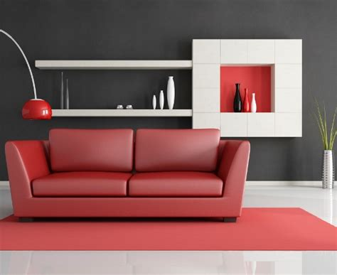 Red Grey White Living Room : 7 Paint Colors That Go Well With Red