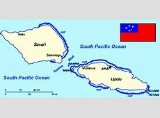 ABC Maps of Western Samoa; Flag, Map, Economy, Geography