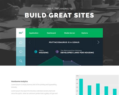 Bootstrap Landing Page Flowlanding Bootstrap Landing Page Template
