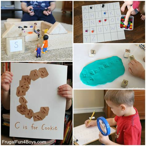 40 of the best math and literacy activities for preschoolers 531 | Preschool Literacy Collage