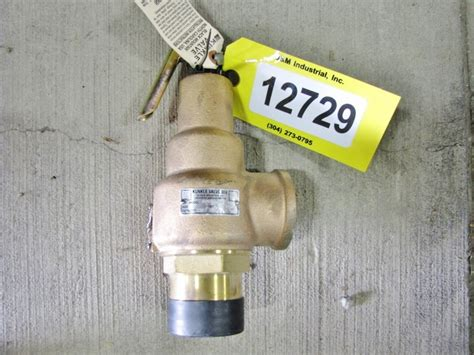 """Unused 2"""" Compressed Air Kunkle Pressure Relief Valve"""