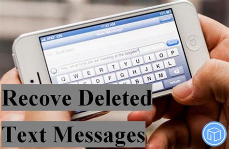 how to pull up deleted text messages from iphone