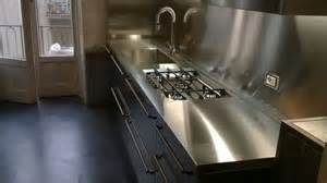 Cucina acciaio inox borlina