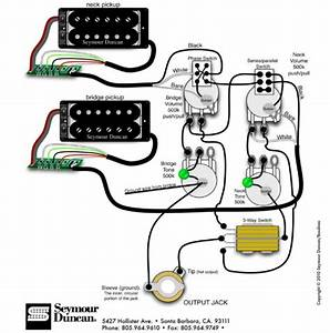 3 Pickup Les Paul Wiring Diagram