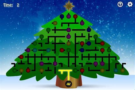 christmas tree light up brain games christmas lights