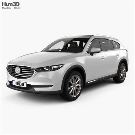 Dealer contribution may vary and could affect price. Mazda CX-8 with HQ interior 2017 3D | CGTrader