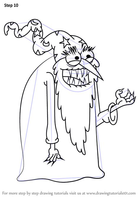 learn   draw evil wizard  uncle grandpa uncle