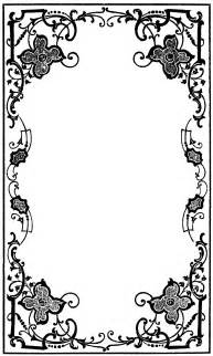 Free Victorian Page Borders