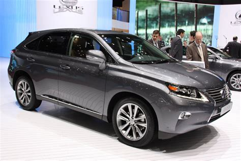 2013 Lexus Rx by 2013 Lexus Rx Dons Its Family S New