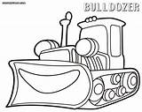 Bulldozer Coloring Pages sketch template