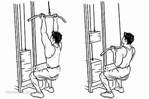 Close Grip Lat Pulldowns    Pull Downs    Pullovers