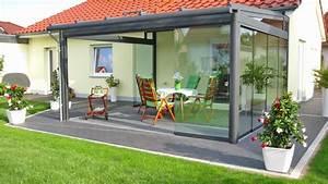 elegant terrassendach alu glas haus design ideen With terrassenüberdachung preise alu