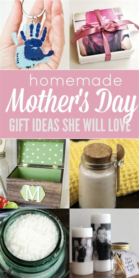 homemade mothers day gifts homemade mothers day