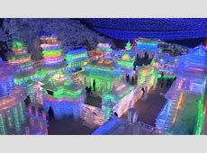 Ice sculptures dazzle as China starts Year of Dragon BBC