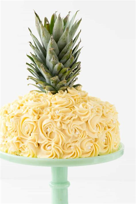 via apple bay pineapple cake cake decorating tutorial for crust