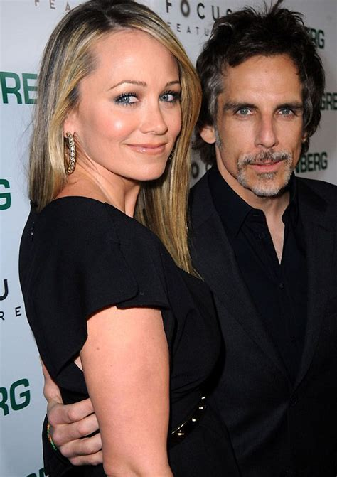 ben stiller movies wedding wife pics biography
