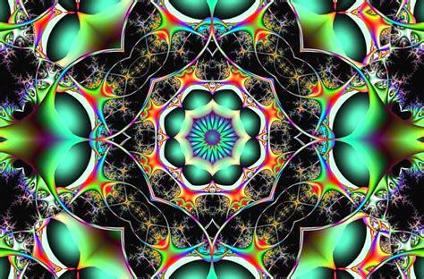 illustration fractal chaos symmetry  image