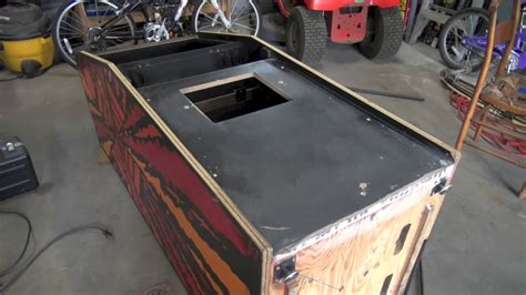 T Molding Arcade Cabinet by How To Install T Molding Restore A Coin Door And Paint