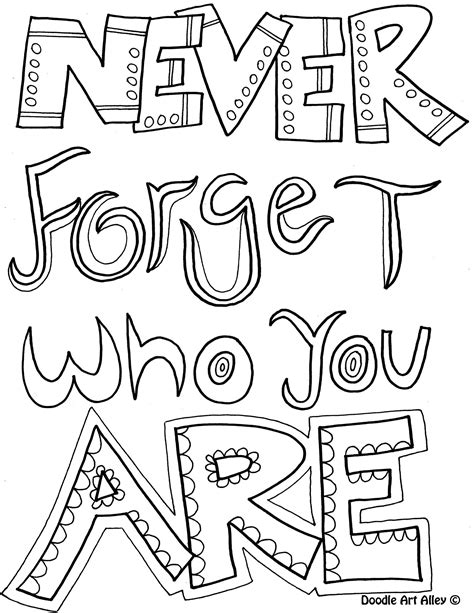 inspirational quotes coloring pages quotesgram
