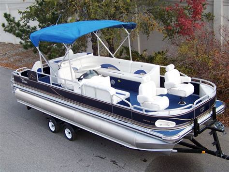 Tritoon Boats Price by New Tahoe 24 Fnf Tritoon Boat For Sale From Usa