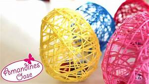 Ostereier Aus Gipsbinden : ostereier aus wolle garn mit hilfe von luftballons diy dekoration un basteln ~ Eleganceandgraceweddings.com Haus und Dekorationen
