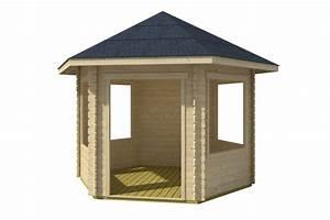 6 Eck Pavillon : gartenhaus skanholz madeira 6 pavillon vom gartenhaus fachh ndler ~ Frokenaadalensverden.com Haus und Dekorationen